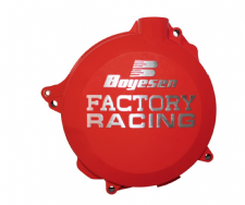 CLUTCH COVER HONDA CRF450R 17-19, CRF450RX 17-18 RED